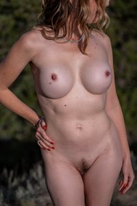 Modelling outdoors.  Do you like the thrill of getting caught?
